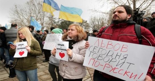 В Украине сегодня нет языковой проблемы