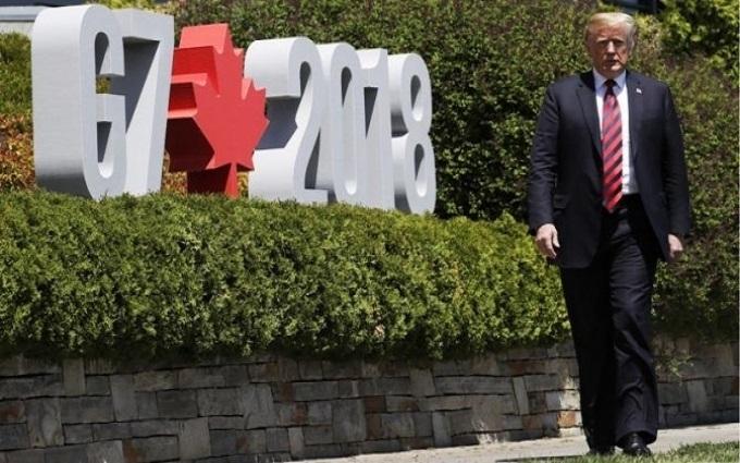 Скандальное завершение Саммита <nobr>G-7</nobr> в&nbsp;Канаде
