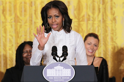 Мишель Обама пригласила Блейк Лайвли на киносеминар