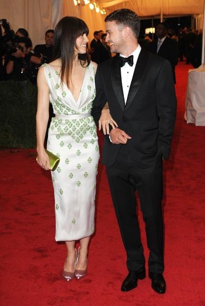 Джастин Тимберлейк и Джессика Бил поженились в Италии