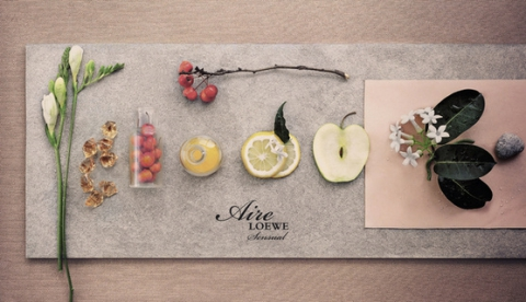 Парфюмерная марка Loewe презентовала женский аромат Aire Loewe Sensual