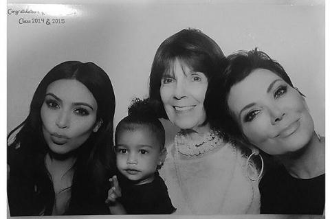 Сама серьезность: Ким Кардашьян показала новые фото дочки Норт