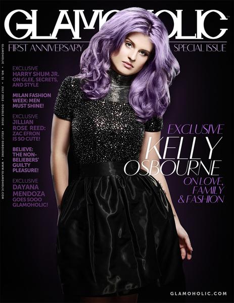 Келли Осборн появилась на обложке журнала в новом образе
