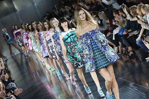 Неделя моды в Лондоне-2013: показ Mary Katrantzou