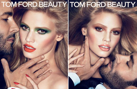 Лара Стоун стала лицом новой косметики Tom Ford