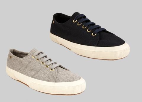 Сестры Олсен создают капсульную коллекцию обуви Superga
