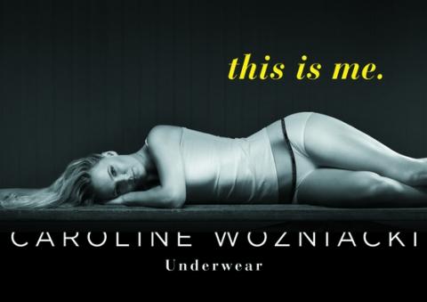 Первая ракетка мира Каролина Возняцки запустила линию нижнего белья