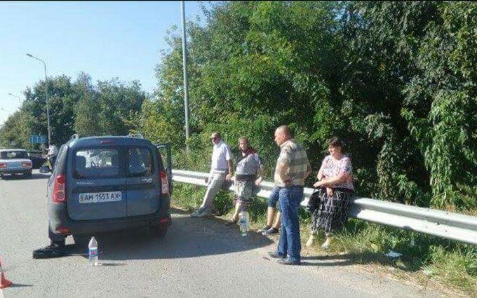 На Житомирщині священик на смерть збив дитину: опубліковані фото