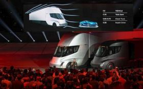 Tesla презентовала электрогрузовик с автопилотом: появилось видео