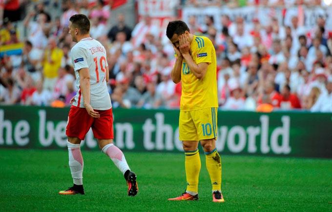 Україна і Росія очолили топ найгірших збірних Євро-2016