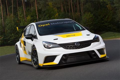 Opel анонсувала гоночний хетчбек Astra (9 фото) (9)