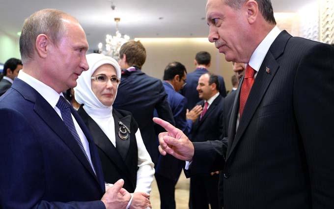 У Ердогана розсипали подяки перед Путіним