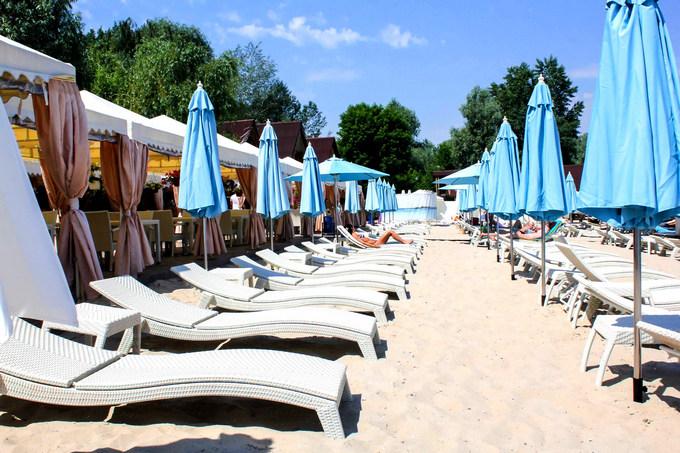 Пляжные комплексы в Киеве: десять лучших зон для летнего отдыха (1)