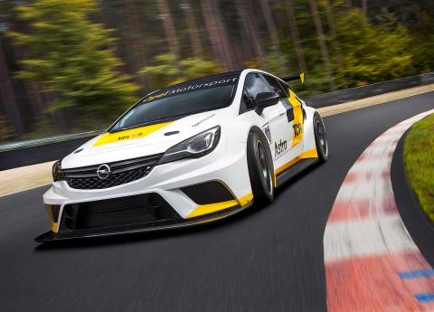 Opel анонсувала гоночний хетчбек Astra (9 фото) (3)