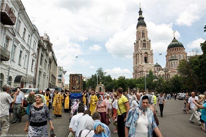 Ікона Тимошенко на хресній ході розжарила соцмережі: опубліковано фото
