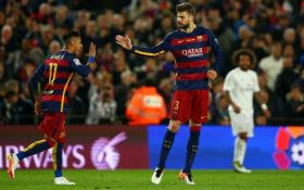 Пике: Неймар не покинет Барселону, он остается