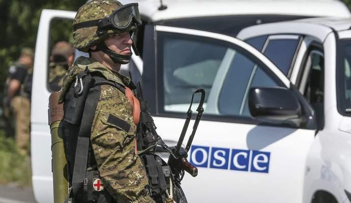 Гаубиці і танки бойовиків виведені з місця стоянки - звіт ОБСЄ