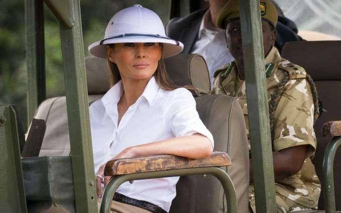 Глобальна помилка: Меланію Трамп розкритикували за наряд під час візиту в Африку