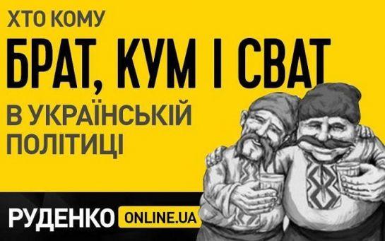 Большая родня-2017: Кто кому брат, кум и сват в украинской политике