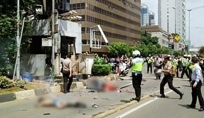 Терористи ІДІЛ взяли на себе відповідальність за напади в Джакарті