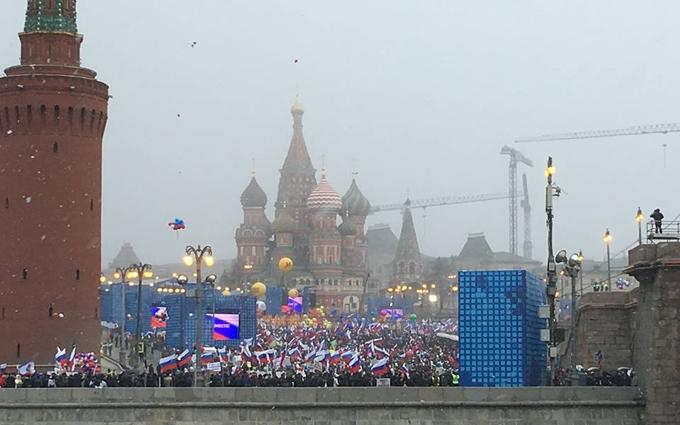 """Очевидец рассказал про """"крымский шабаш"""" в Москве: опубликованы фото и видео"""