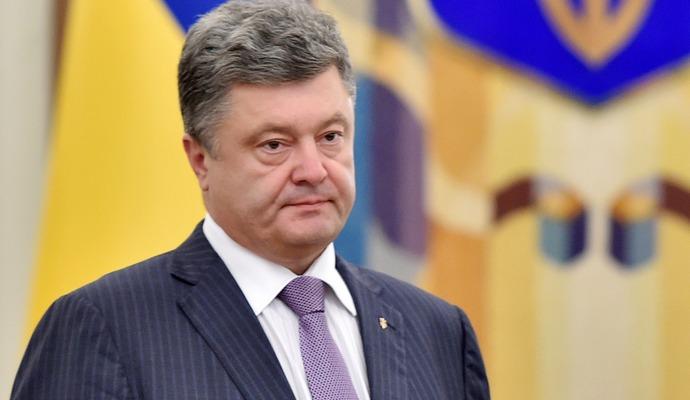 Санкции - это не наказание, а способ вернуть РФ за стол переговоров - Порошенко