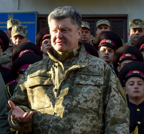 Порошенко присвоїв Муженко і Полторак вище військове звання України