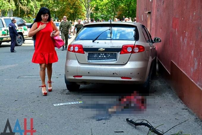 Потужний вибух в окупованому Донецьку: з'явилися відео та нові фото (1)
