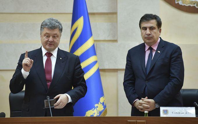 Саакашвили добрался до бизнеса Порошенко: появилось видео