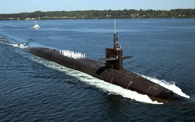 Россия хвастается, что поймала в Средиземном море субмарину США