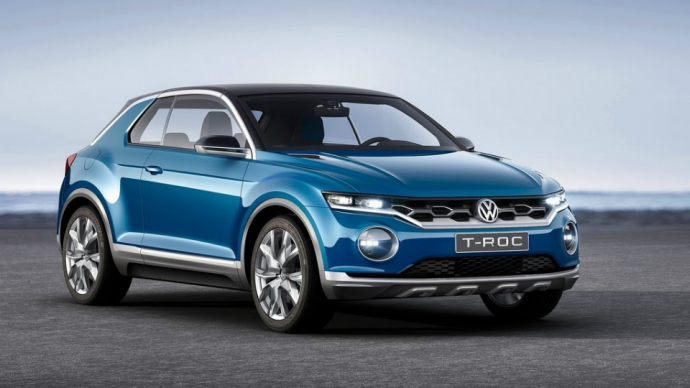 Volkswagen готовит конкурента Nissan Juke (4 фото)