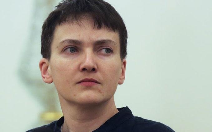 Савченко, яка голодує, знову поговорила про війну та бойовиків: опубліковані видео