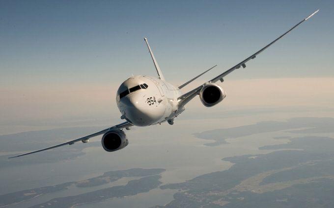Росіяни знову побачили американський літак біля Криму