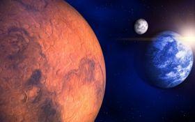 Вчені розповіли про придатні для життя місця на Марсі та Місяці