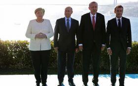Саміт в Стамбулі по Сирії: головні підсумки переговорів Путіна, Меркель, Ердогана і Макрона