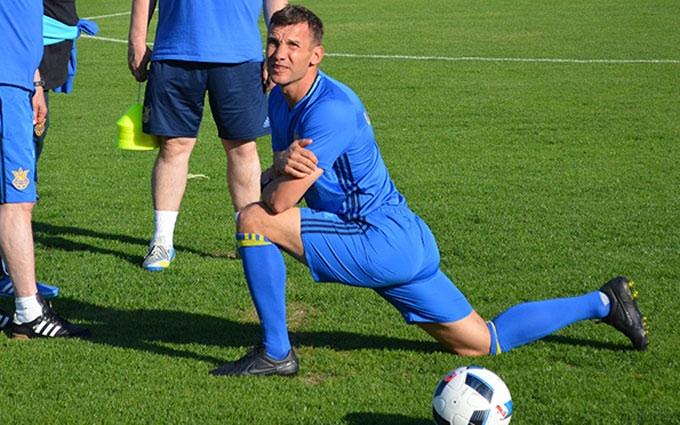 Шевченко назвав цілі збірної України на Євро-2016