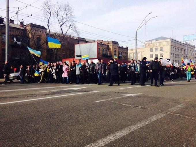 Атака на посольство России в Киеве: появились новые фото, видео и подробности (5)