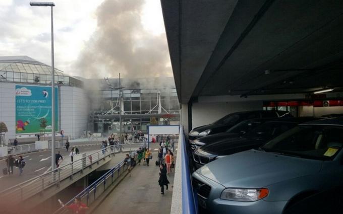 Теракты в Брюсселе: видео взрывов, фото и все подробности (1)