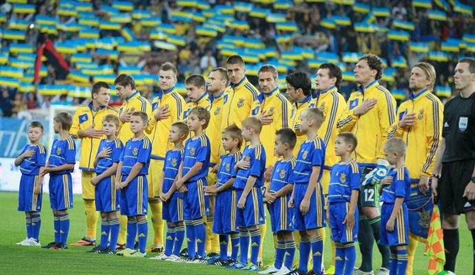У березні українська збірна з футболу проведе два товариських матчі