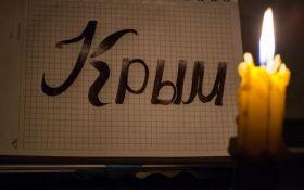 Оккупированный Россией Крым остался без электричества