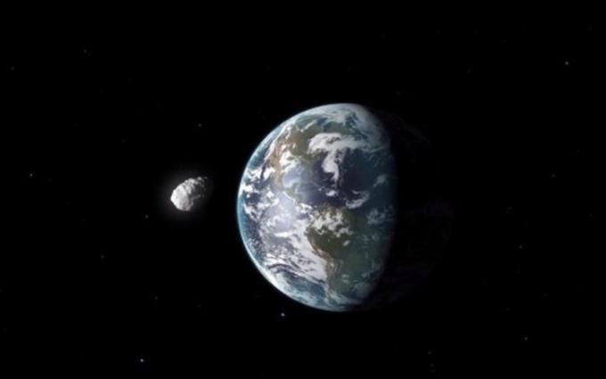 NASA показала фото астероїда, який може зіткнутися з Землею