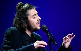 Победитель Евровидения спел песню бельгийки Бланш