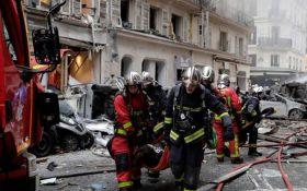 Вибух в Парижі: з'явилися нові дані про постраждалих і відео