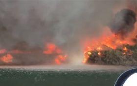 Це потрібно бачити: в США зняли на відео вогняний смерч