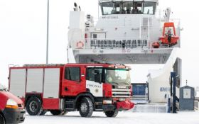 Туристичний автобус провалився під лід в Естонії, є жертви