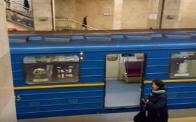 В киевском метрополитене гулял голый мужчина