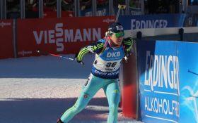 Украинка завоевала золотую медаль на Чемпионате Европы по биатлону