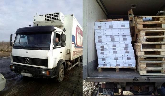 СБУ задержала в районе проведения АТО контрабанду товаров на 300 000 грн