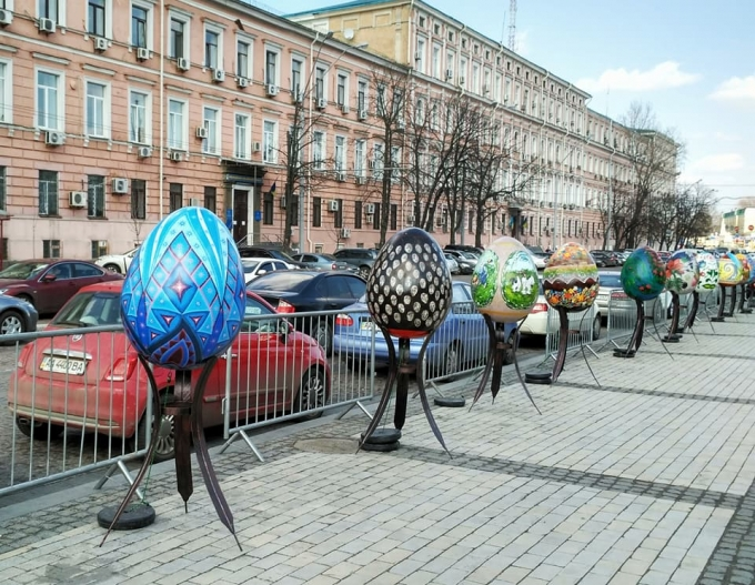 В Киеве открылась самая масштабная выставка к Пасхе-2018: опубликованы яркие фото (7)