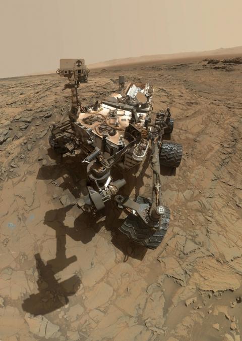 Curiosity надіслав нове селфі з Марса